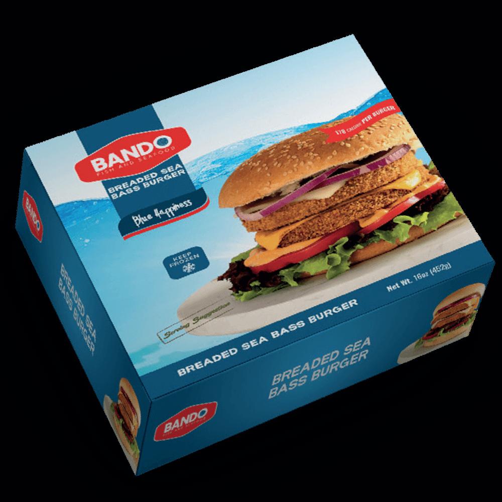 Breaded Branzino Burger